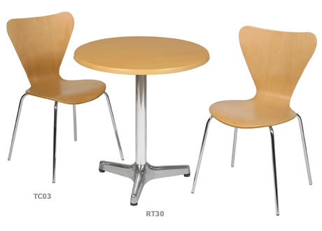 Reality Beech Cafe Chair