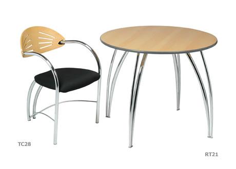 Apollo chrome frame chair