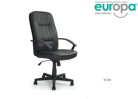 Buckingham Executive Leather Swivel Chair