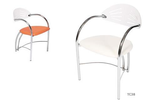 Apollo plexiglass backed chair