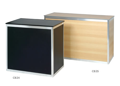 1.5m Sales counter with shelf