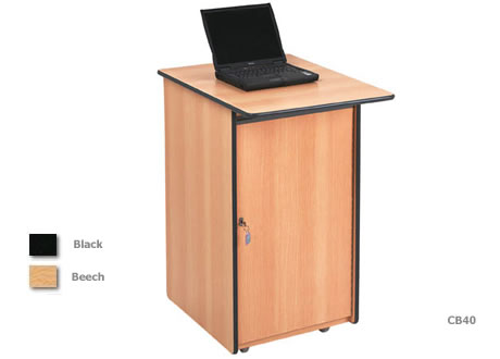 Lockable Computer Workstation