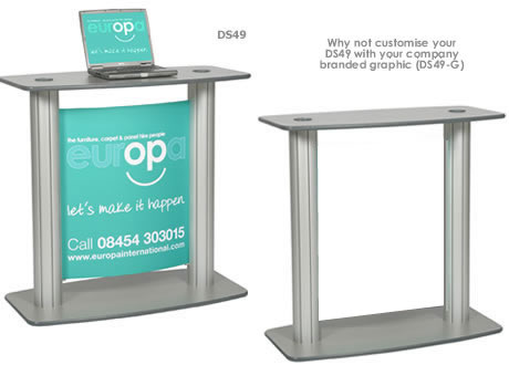 Lecturn Display POD Stand (graphic separate)