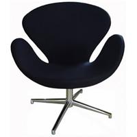 Swan Chair Black hire