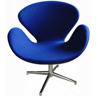 Swan Chair Blue hire