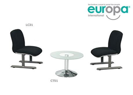 Cobra reception chair