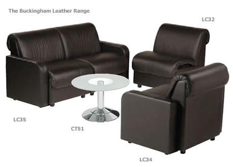 Buckingham Leather armchair