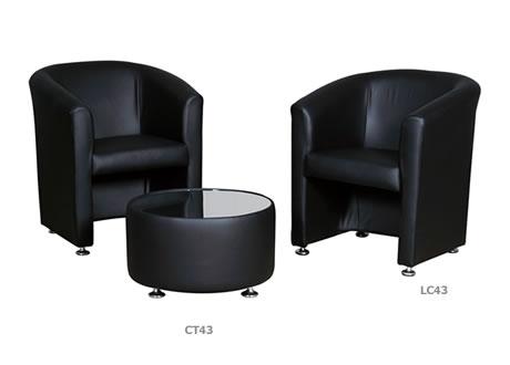 Mayfair Leather Tub Chair