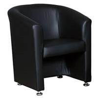 Mayfair Leather Tub Chair hire