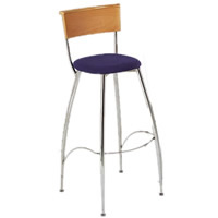 Eros beech backed bar stool hire