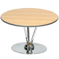 2' Aurora Round Topped Table hire