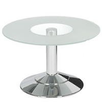 Venezia Glass Coffee Table hire