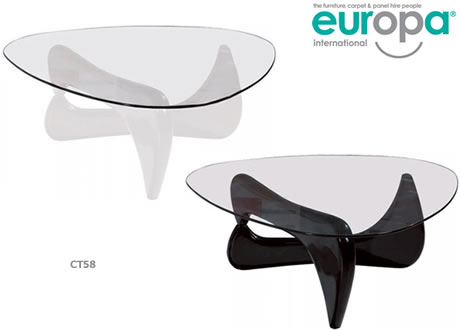 Isamu Noguchi Inspired Coffee Table - Noguchi inspired coffee table