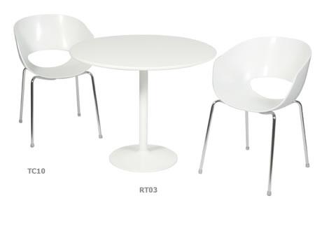 Arkana 3' round trumpet base table