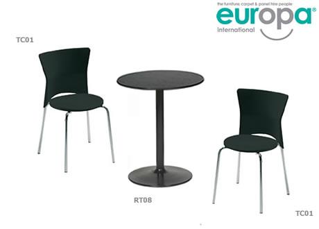 Bistro 2' round table