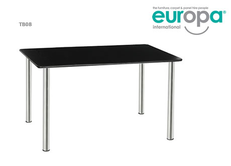Orpheus 4' standard rectangular table