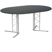 Isis small boardroom table (seats 4-6) hire