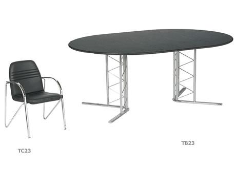 2m Isis Boardroom Table (6-8 pax)