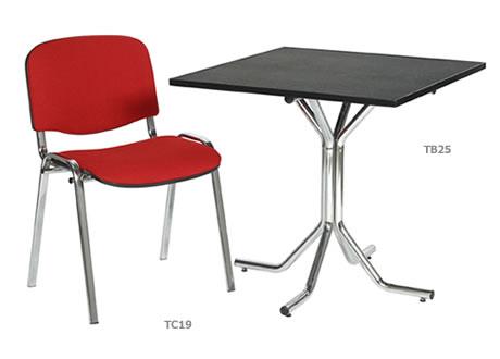 Artemis 2'6'' Square Table