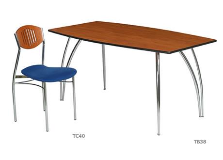 Apollo Contoured Table