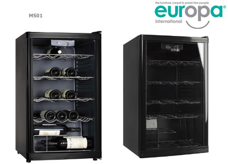 1 Amp Wine Cooler - 4 Cubic Feet