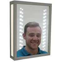 Illuminated Makeup Mirror hire