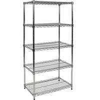 5-shelf display stand hire