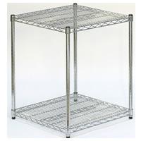 2-shelf cubic display