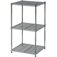 3-shelf cubic display hire