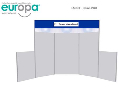 Demo POD - Panel Stand