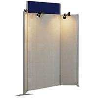 Winged display panel (spotlights seperate) hire