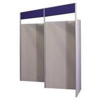 4-panel zig-zag hire