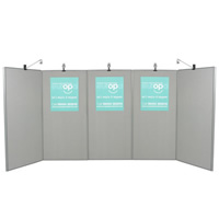 5 Panel Display Board - Lighting seperate hire