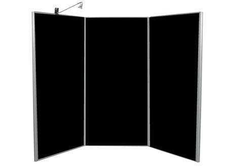 3 Panel Display Boards - Lighting seperate