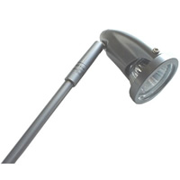 Clip-on Halogen Spotlight (GU10 50W) - 3m Lead hire
