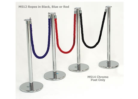 Red Ropes 1.5m