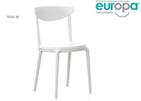 White Chair Indoor/Outdoor