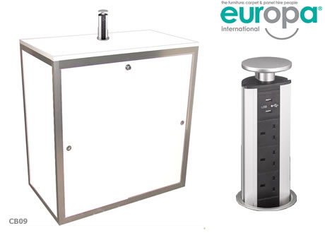 Lockable Charging Cupboard