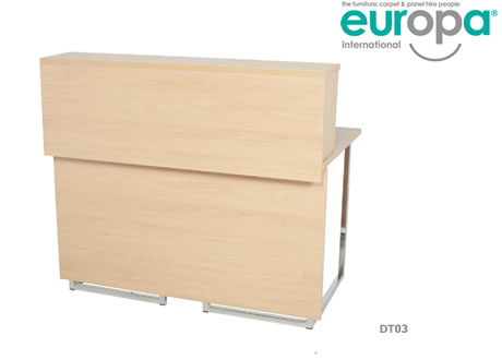 4' Kouros Reception Desk