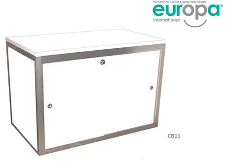 Low Lockable Cupboard