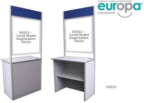 Covid Screened Registration Desk
